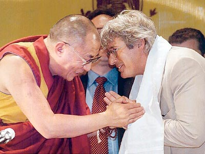 The-Dalai-Lama-with-Richard-Gere