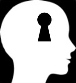 Keyhole head